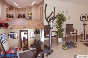 Own fitness room